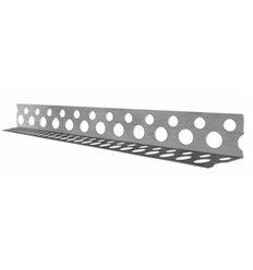 Уголок перфорированный алюминиевый 18,5х18,5, 2,5м