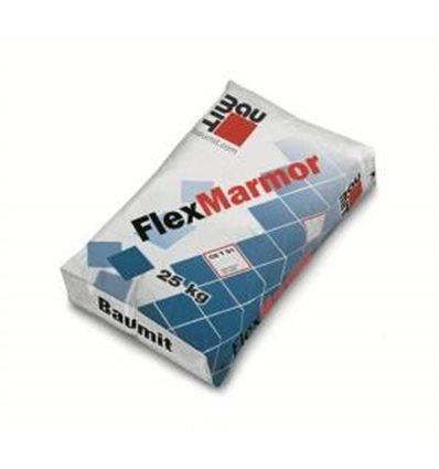 Baumit FlexMarmor клей для мрамора и мозаики (белый), 25 кг