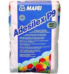 Клей для плитки, мрамора и мозаики Мапеи Aдесилекс П9 белый, 25кг