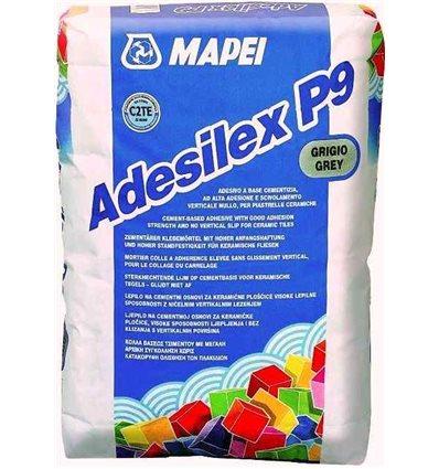 Mapei Adesilex P9 клей для керамической мозаики (белый), 25к