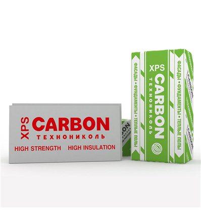 КАРБОН пенополистирол экструзионный Carbon ECO 1200 х 600 х 20мм