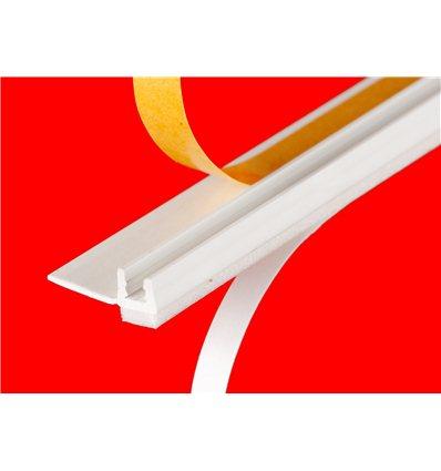 Примыкающий профиль для оконных рам и дверных откосов 6 мм