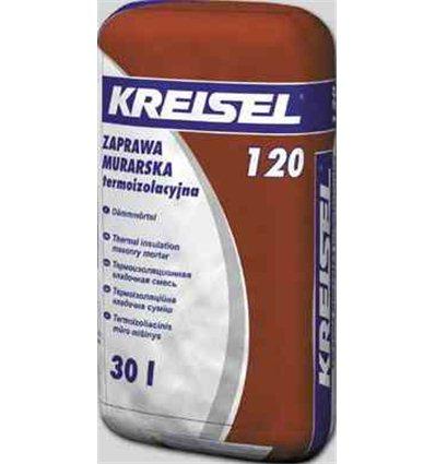Крайзель 120 термоизоляционная смесь для кладки, 30л