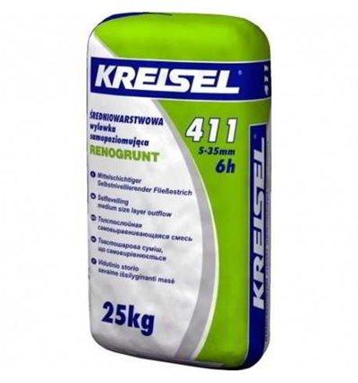 КРАЙЗЕЛЬ 411 самовыравнивающаяся смесь 5-35мм Kreisel 411, 25кг