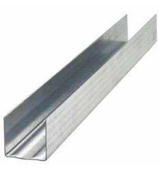 Профиль для гипсокартона UD 27 4м (0,55 мм) направляющий