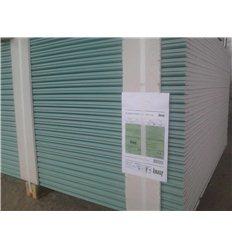 Гипсокартон влагостойкий стеновой Кнауф 12,5мм1200 х2500мм