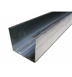 Профіль для гіпсокартону UW 75 3м (0,55 мм) ГОСТ