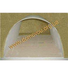 Гипсокартон арочный гибкий Кнауф 6,5мм1200х2500мм