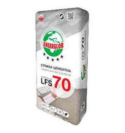 Anserglob LFS 70 стяжка цементная, 25кг