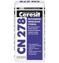 Стяжка Церезит CN-278 легковыравнивающаяся, 25 кг