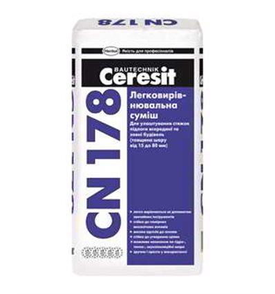 CN-178 Церезит самовыравнивающаяся смесь Ceresit CN-178, 25 кг