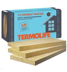 Базальтова вата Термолайф Приват Фасад пл.115кг / м3 100мм 1х0,6м, уп. - 1,2 м2