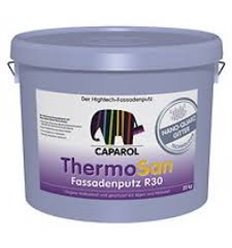 Декоративна штукатурка ThermoSan NQG Fassadenputz R30 Weib. Зерно 3,0 мм.