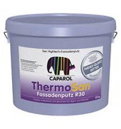 Декоративная штукатурка ThermoSan NQG Fassadenputz R30 Weib. Зерно 3,0мм.