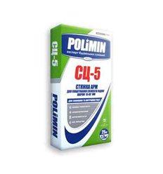 Стяжка підлоги Полімін СЦ-5 армована М200, 25кг