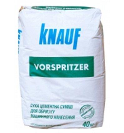 Штукатурный цементный обрызг Кнауф Форшпритцер, 40кг