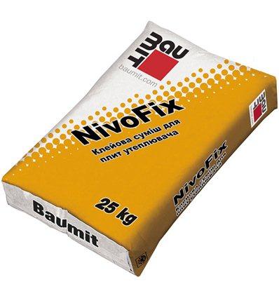 Клей Баумит НивоФикс для прикл. пенополистирола, 25кг