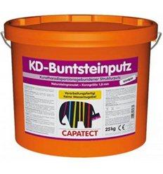 Штукатурка декоративна Buntsteinputz granitschwarz (Чорний граніт), 25кг