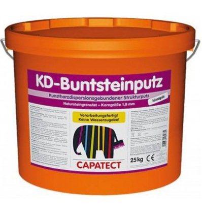 Штукатурка декоративная Buntsteinputz granitschwarz (Черный гранит), 25кг
