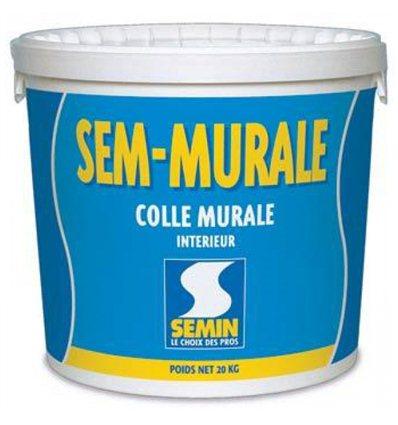 Клей для декоративных натсенных покрытий Semin Sem-Muralle, 10кг
