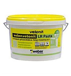 Шпаклівка фінішна weber Vetonit LR Pasta, 20 кг
