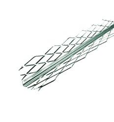 Уголок стальной сетчатый для мокрой штукатурки, 3м