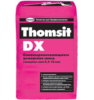 Наливной пол Thomsit DX, 25 кг