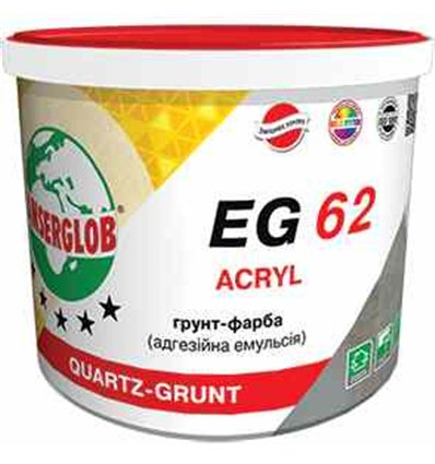 Грунт краска Ансерглоб EG-62 силиконовая, 10л