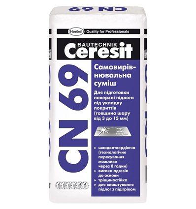 Пол наливной Церезит СN-69, 25кг