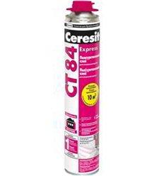 Клей-піна поліурітанового для приклеювання пінополістиролу Церезіт CT-84, 850мл