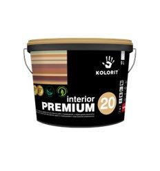 Краска Колорит Interior Premium 20 полуматовая, 9л