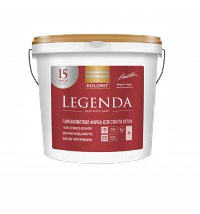 Краска Колорит Legenda (Interior Luxe) глубокоматовая, 9л