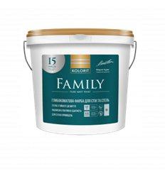 Фарба Колорит Family (Interior Premium 3) Глубокоматовая, 9л