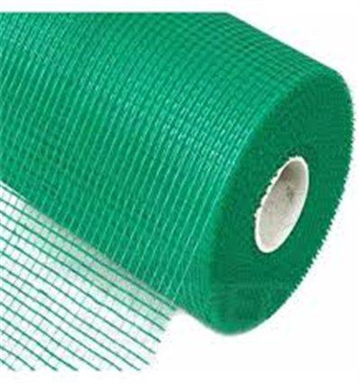 Сетка штукатурная Anserglob пл.165г/м2 яч.5х5 (зеленая), 50м2