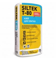 Клей для плитки Силтек Т-80, 25кг