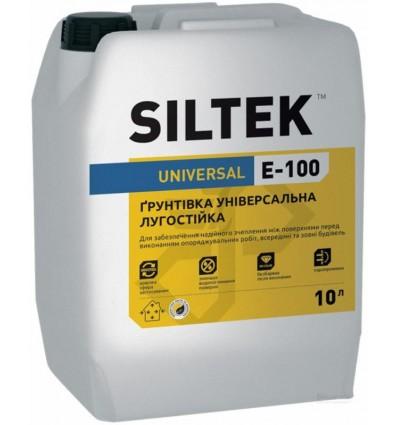 Силтек Е-100 грунтовка пленкообразующая, 10л