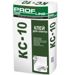 Клей для плитки Профлайн КС-10, 25кг