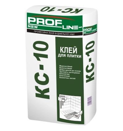 Профлайн КС-10 Клей для плитки, 25кг