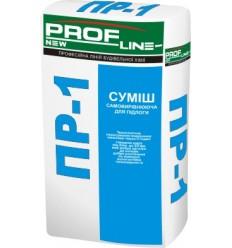 Профлайн ПР-1 самовыравнивающаяся смесь, слой от 2 мм до 20 мм, 25 кг