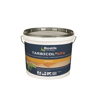 Клей на спиртовой основе Bostik Tarbicol KPA для укладки паркета, 25кг