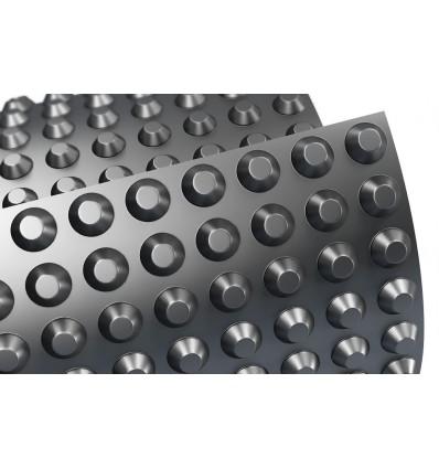 Шиповидная мембрана для фундамента TERRAPLAST PLUS L8 1,5*20м 400пл.