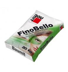 Шпаклівка Baumit FinoBello фінішна тонкослойная до 3 мм, 20кг