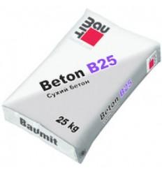 Бетонна суміш, стяжка Baumit Beton В25 (Бауміт Бетон Б25), 25кг