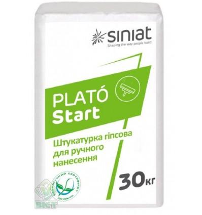 PLATÓ Start гипсовая стартовая штукатурка, 30кг