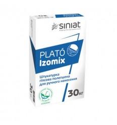 PLATO Izomix штукатурка гипсовая универсальная Плато Изомикс, 30кг