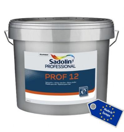 SADOLIN PROF 12 (САДОЛИН ПРОФ 12) - латексная полуматовая