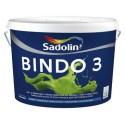SADOLIN BINDO 3 (Садолин Біндо 3) Глубокоматовая фарба, 10л