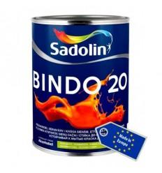 SADOLIN BINDO 20 (Садолін Біндо 20) напівматова вологостійка фарба біла
