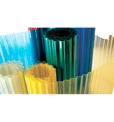 Волнопласт (шифер из стекловолокна) 1,5*20м, 2*20м, 2,5*20м