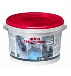 Міра 3650 multipox епоксидний клей і фуга для плитки MIRA, 3 кг